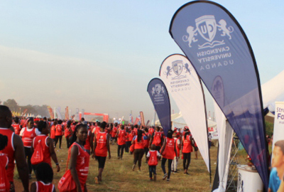 Cavendish staff join the crusade to fight Sickle Cells in the Kabaka's run