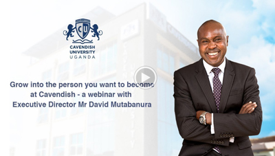 Why Study at Cavendish University Uganda webinar
